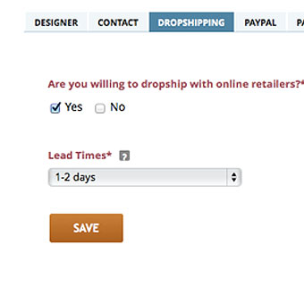 STEP 1: Opt-in for Dropshipping